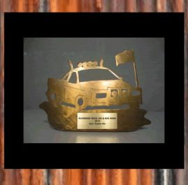 Ute Trophy. Golden patina. Prices start at $60