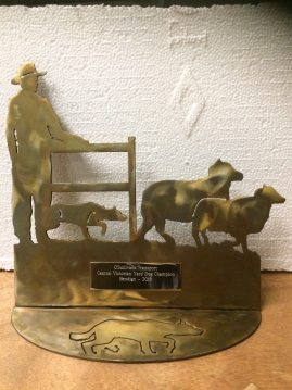 Sheep Dog Trial Trophy